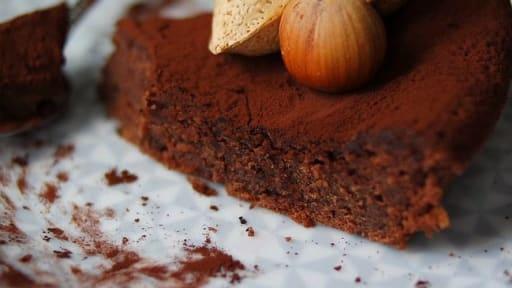 Gâteau chocolat au cœur moelleux