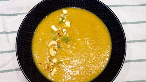 Velouté carottes fenouil