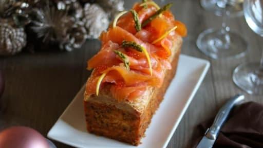 Cake au saumon de Nicolas Bernardé