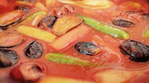 Goulash aux légumes d'automne