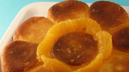 Moelleux à l'orange et au jus d'orange