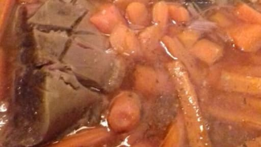 Boeuf carottes mijotés