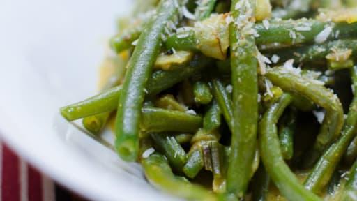 Curry de haricots verts à la noix de coco