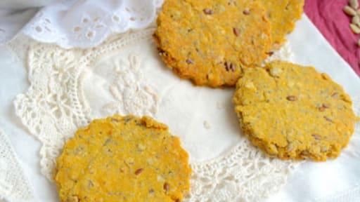 Crackers à la polenta