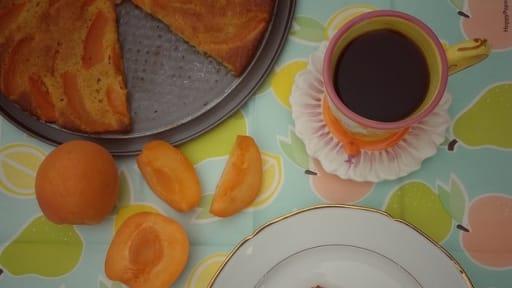 Gâteau light aux abricots