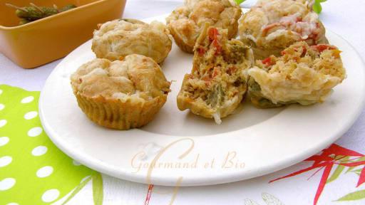 Muffins aux poivrons, paprika et piment doux