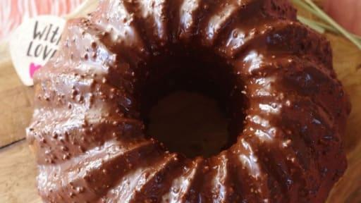Gâteau moelleux vanille et chocolat
