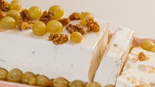 Cassata aux raisins frais