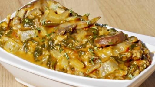 Mitonné de 8 légumes à la mozzarella