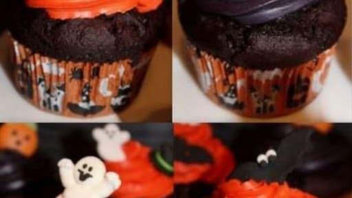 Cupcakes surprise d'Halloween