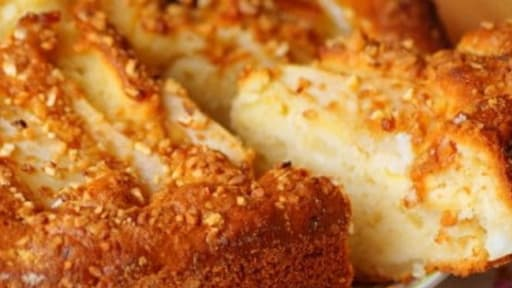 Gâteau à la poire et amande ultra fondant