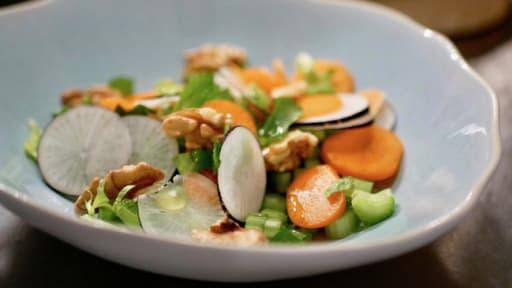 Petite salade détox et croquante.