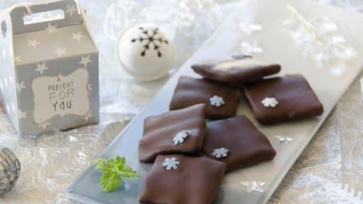 Chocolats Fourres A La Menthe Facon After Eight Maison Recette Par