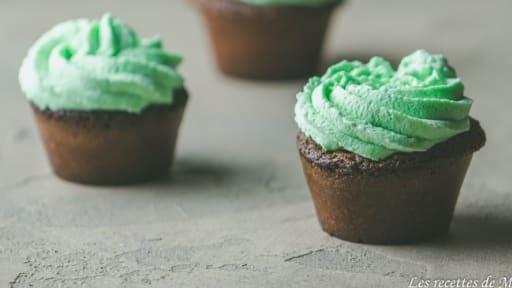 Cupcakes menthe chocolat
