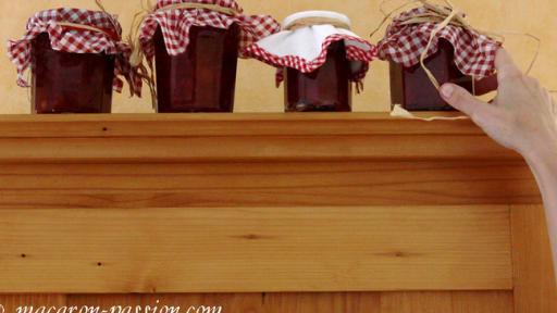 Confiture de cerises, gingembre et anis