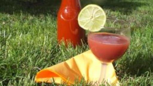 Cocktail Sans Alcool Fraise Ananas Recette Par Caro En Cuisine