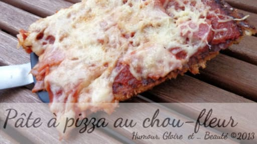 Que Faire Avec Pate A Pizza que faire avec un chou-fleur ? ben, une pâte à pizza  ! - recette