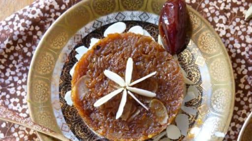 Gâteau indien à la carotte et la cardamome