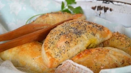 Chaussons végétaux aux légumes, lupin & épices