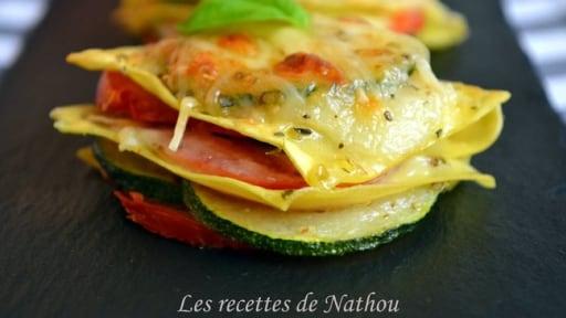 Mini-lasagnes pour l'apéro