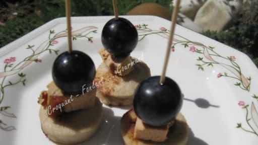 Boudin blanc au foie gras