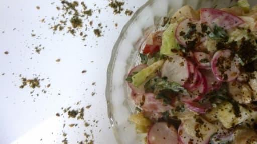 Salade rafraichissante pleine de saveurs