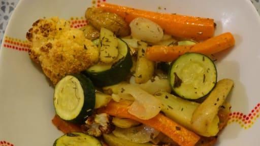 Légumes rotis