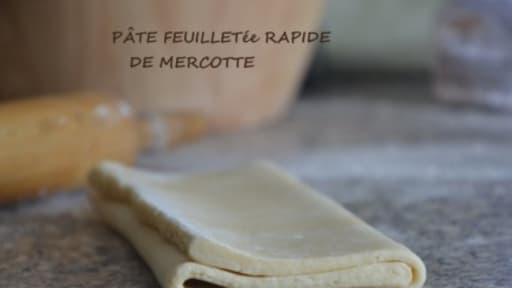 pate feuilletée de mercotte
