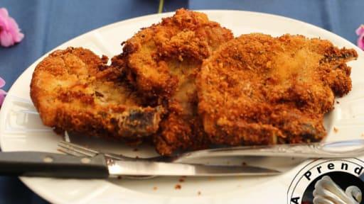 Côtelettes de porc croustillantes
