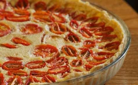 Une tarte aux tomates vegan