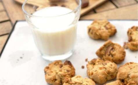 Cookies sans sucre mulberries noix de pécan