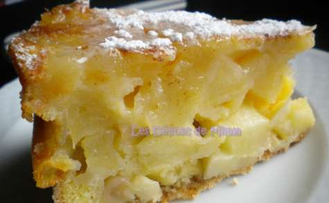 Sharlotka ou le cake aux pommes russe