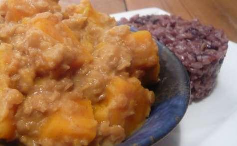 Masoor Dhal coco de lentilles corail et potimarron (végane et sans gluten)