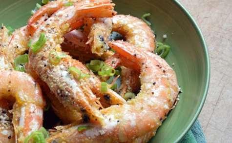 Crevettes au Sel et au Poivre
