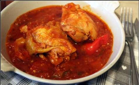 Poulet au piment ancho
