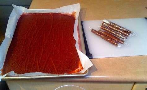 Pâte de fruits cuir à la pastèque tklapi