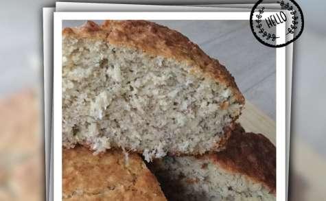 Cake bananes- coco sans gluten