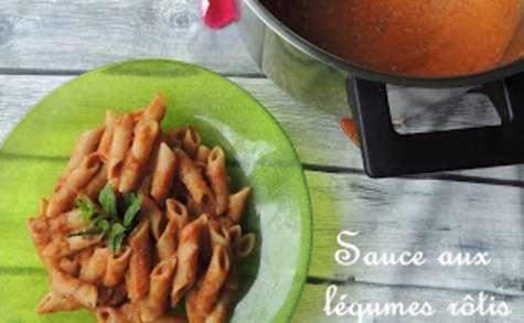 Sauce tomate aux légumes rôtis