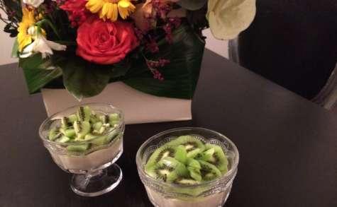 Perles du Japon au chocolat Dulcey et kiwi