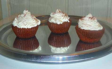 Forêt noire revisitée façon cupcakes