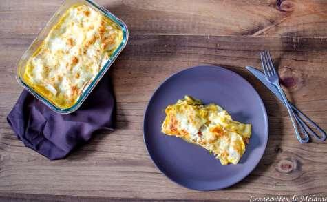 Lasagnes à la ratatouille et au poulet