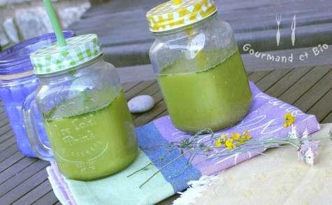 Soupe froide de haricots verts