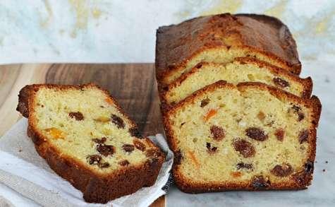 Cake aux parfums de pannetone