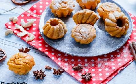 Muffin de butternut et noix de cajou