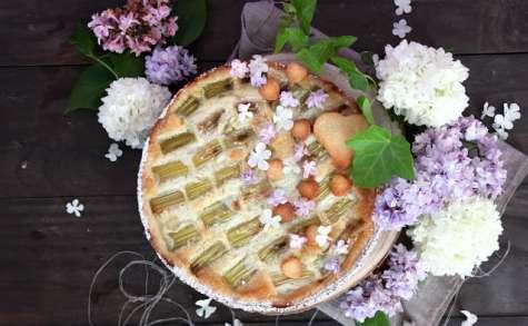 La tarte à la rhubarbe