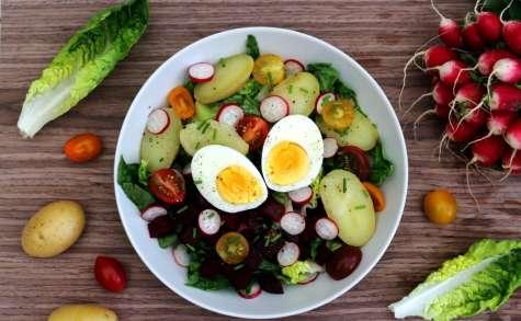 Salade complète