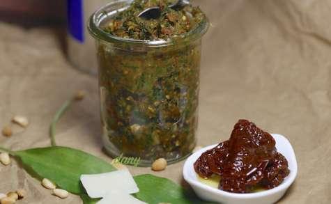 Pesto de tomates séchées à l'ail des ours