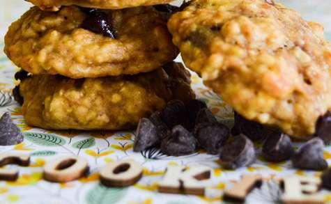 Cookies healthy banane, avoine & beurre de cacahuète