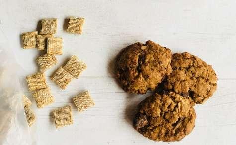 «Shredded wheat cookies» ou cookies aux céréales du petit-déj'!