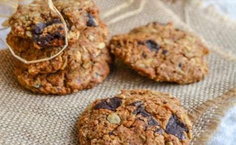 Cookies au beurre de cacahuètes et chocolat noir